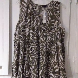 NWT New Directions sleeveless top XL